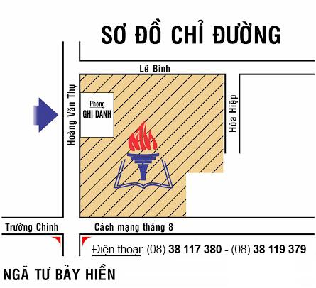 Hướng dẫn đến Trung tâm luyện thi đại học Nguyễn Thượng Hiền