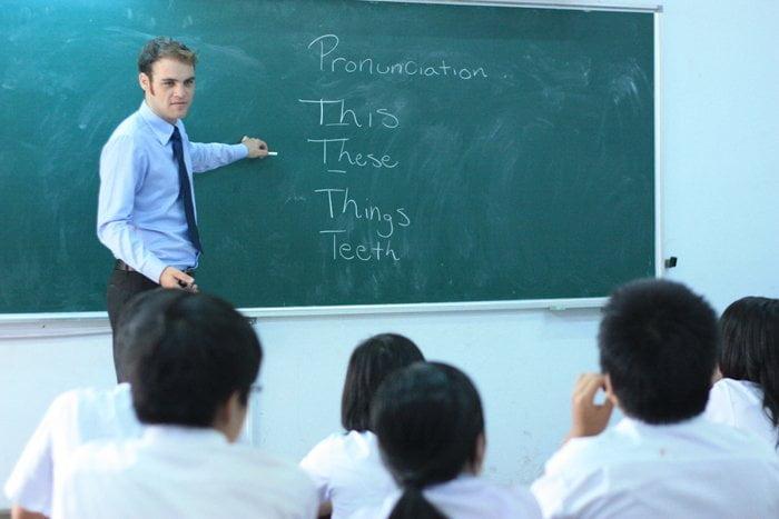 Thông báo tuyển dụng giáo viên tiếng Anh