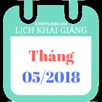 Lịch khai giảng khóa luyện thi đại học cấp tốc 2018