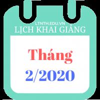 Lịch khai giảng khóa học tháng 02/2020, Luyện thi đại học sau tết Nguyên Đán 2020