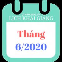 Lịch khai giảng khóa học tháng 06/2020, Luyện thi đại học 2020 (Poster)