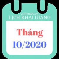 Lịch khai giảng khóa học tháng 10/2020, Luyện thi đại học 2021 (Poster)