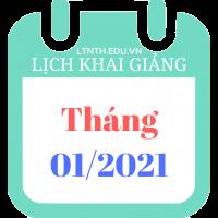 Lịch khai giảng khóa học tháng 1/2021, Luyện thi đại học 2021 (Poster)